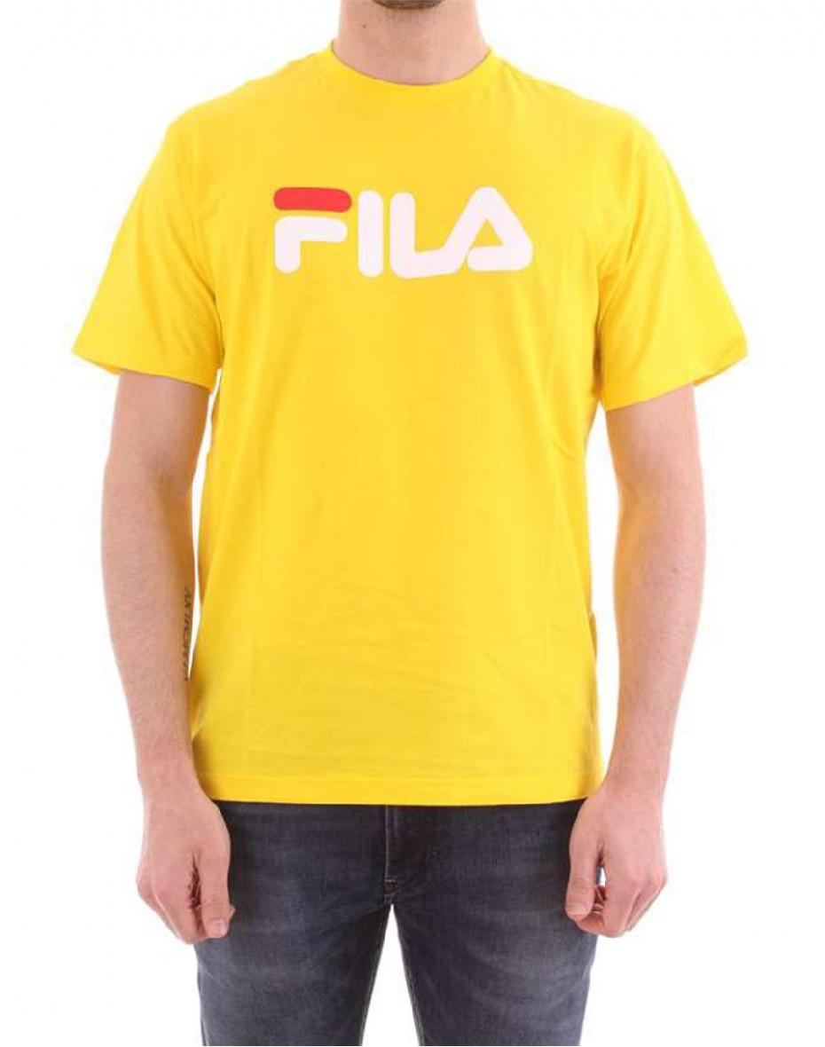 T-shirt con logo - Giallo