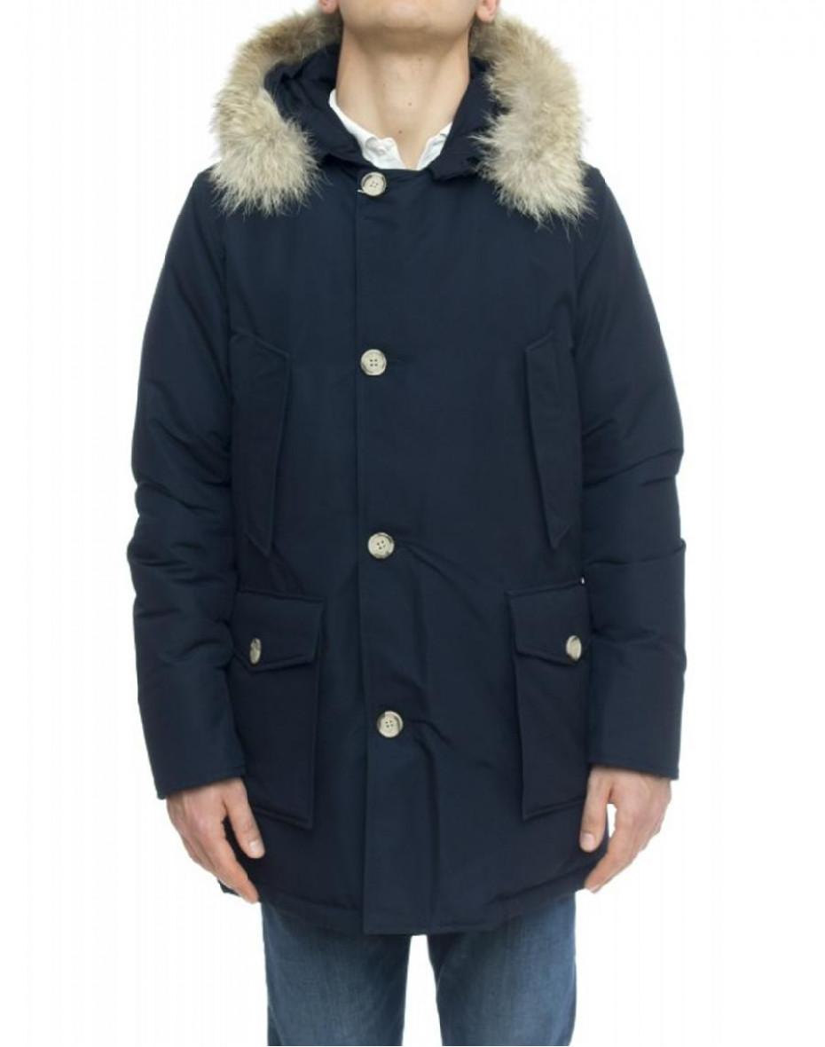 Artic parka con pelliccia removibile - Blu