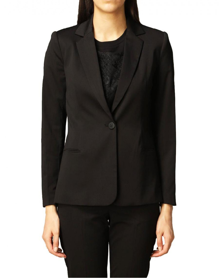 Blazer a un bottone - Black
