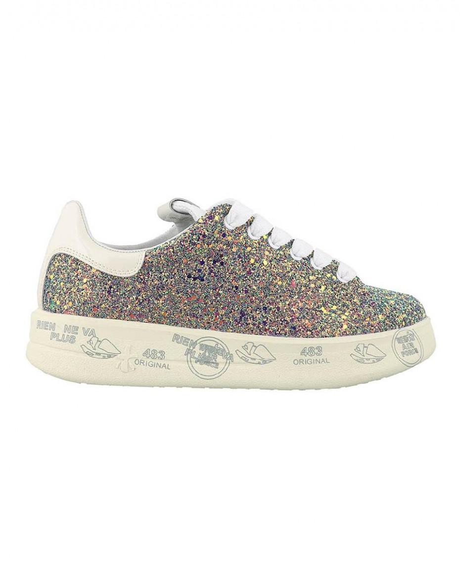 Sneakers Belle with glitter - Glitter