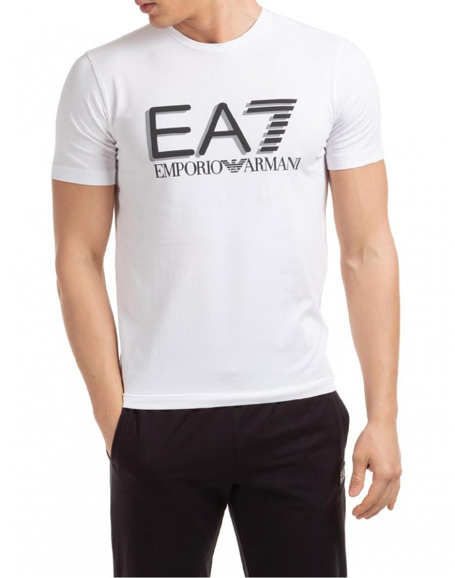 T-shirt con logo - Bianco