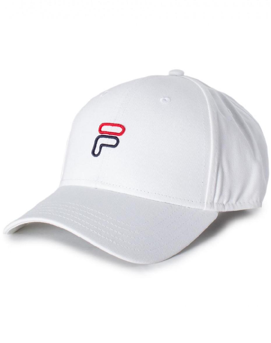 Cappello con visiera - Bianco