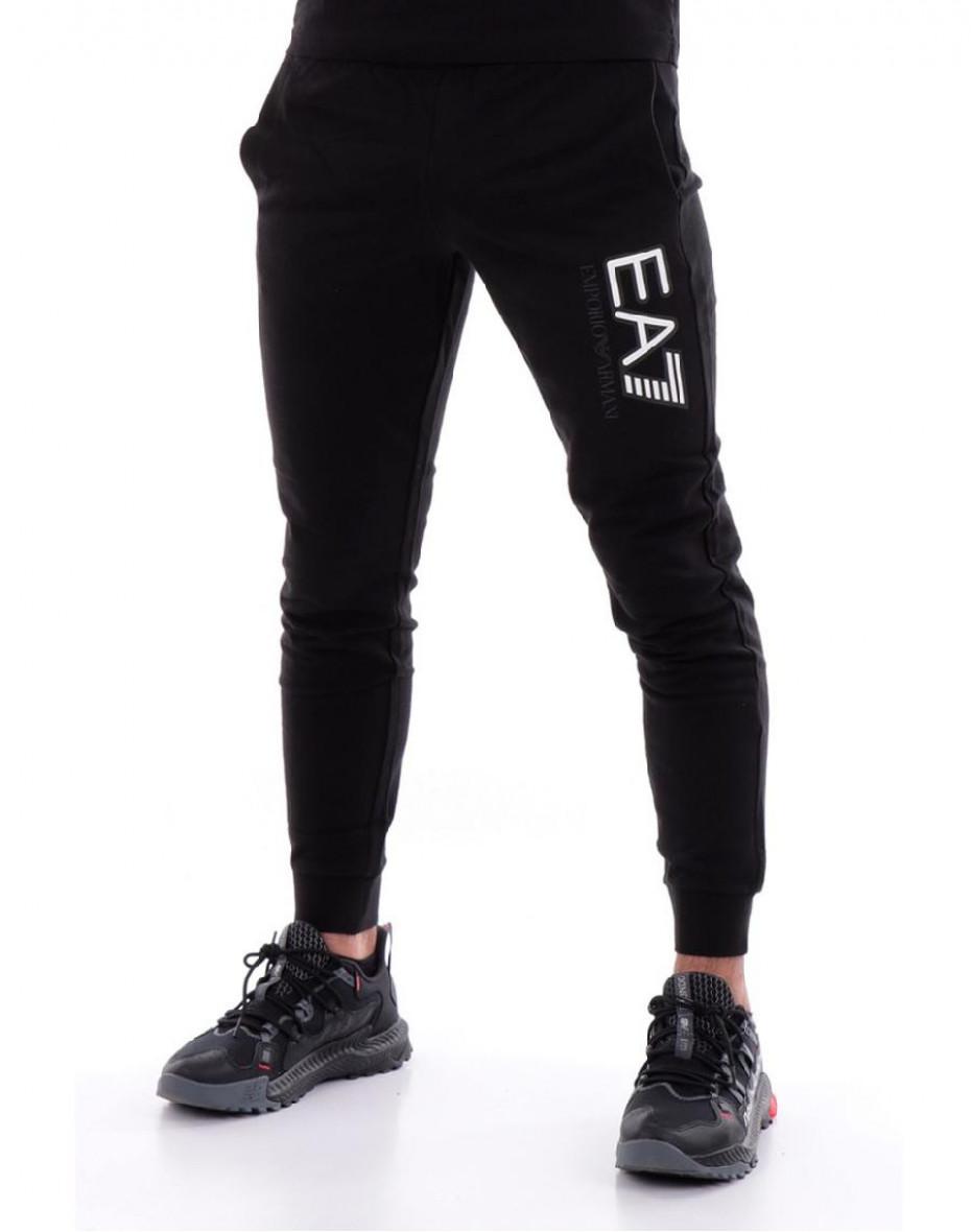 Pantaloni sportivi con stampa - Nero