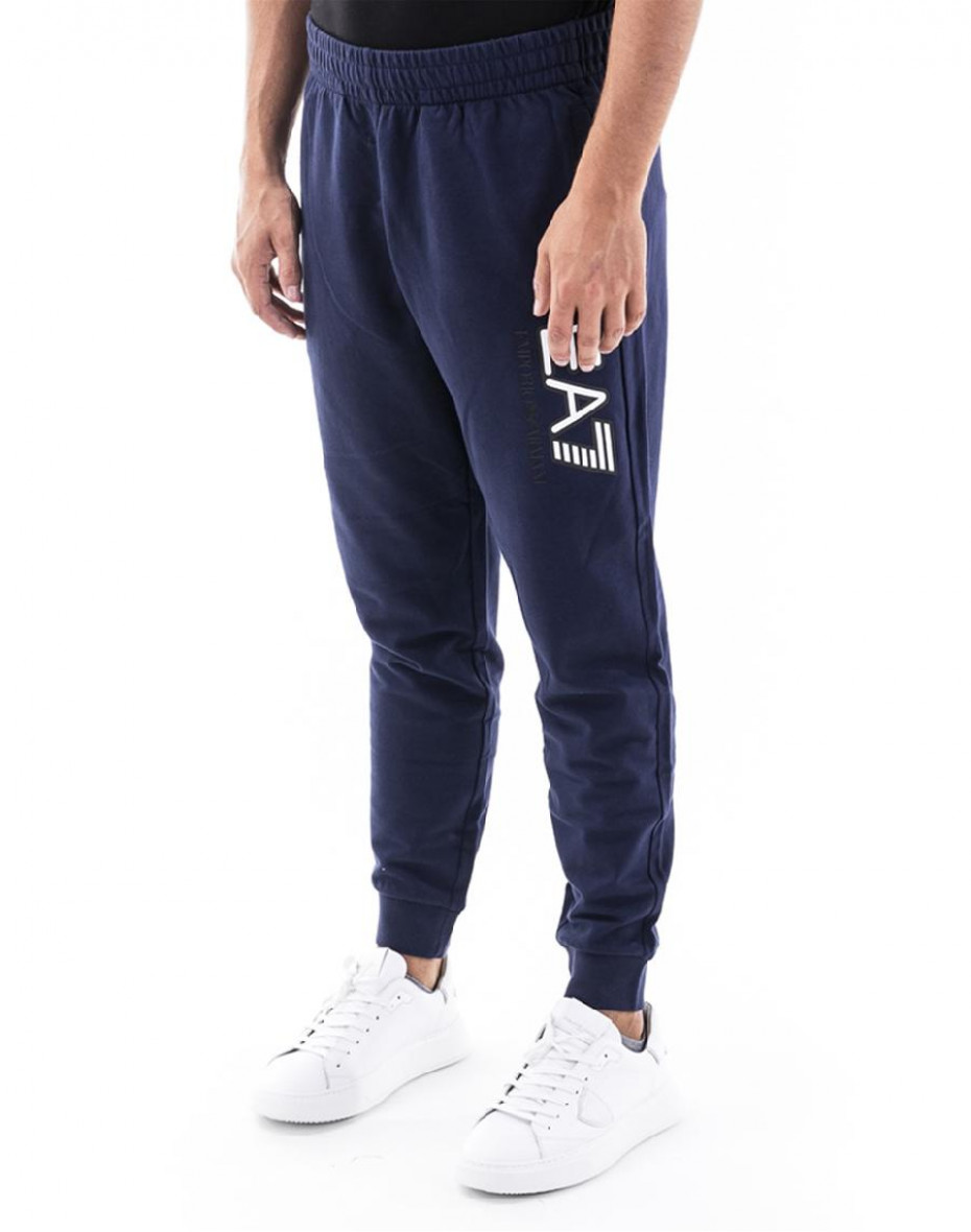 Pantaloni sportivi con stampa - Blu