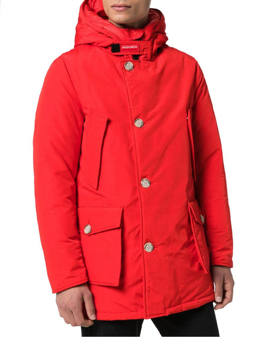 Artic Parka Nf - Rosso