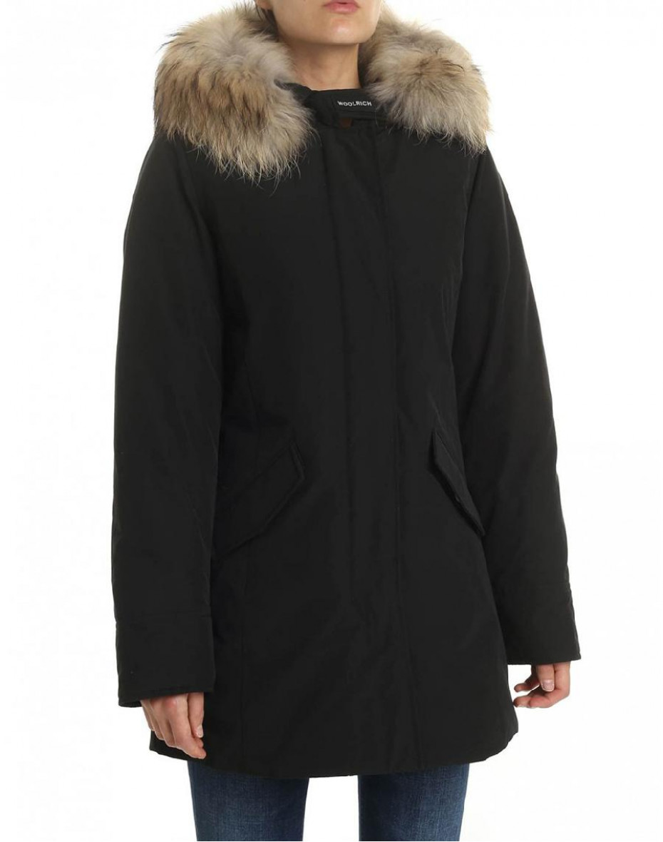 Artic Parka Fr - Nero