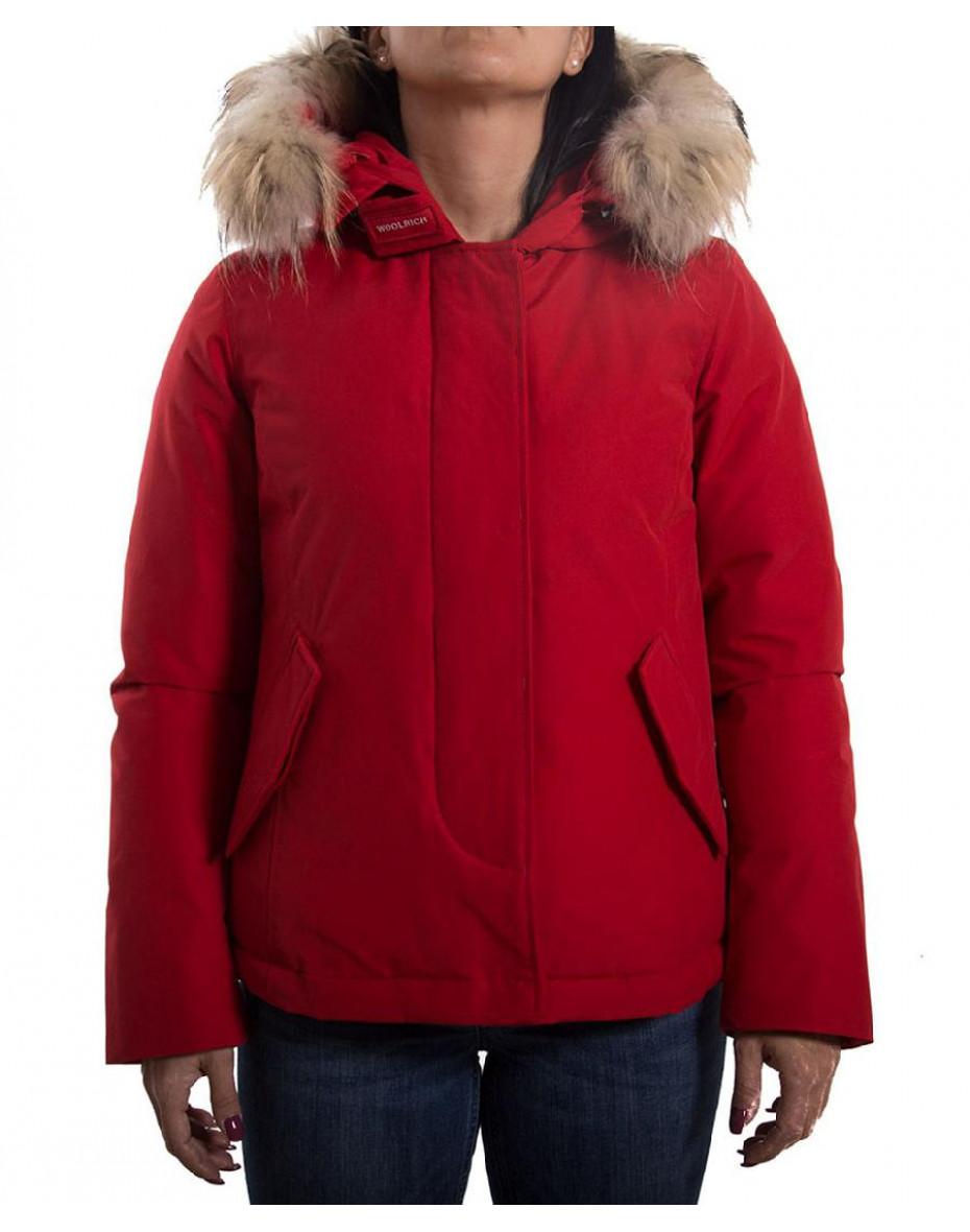 Arctic Parka Corto - Rosso
