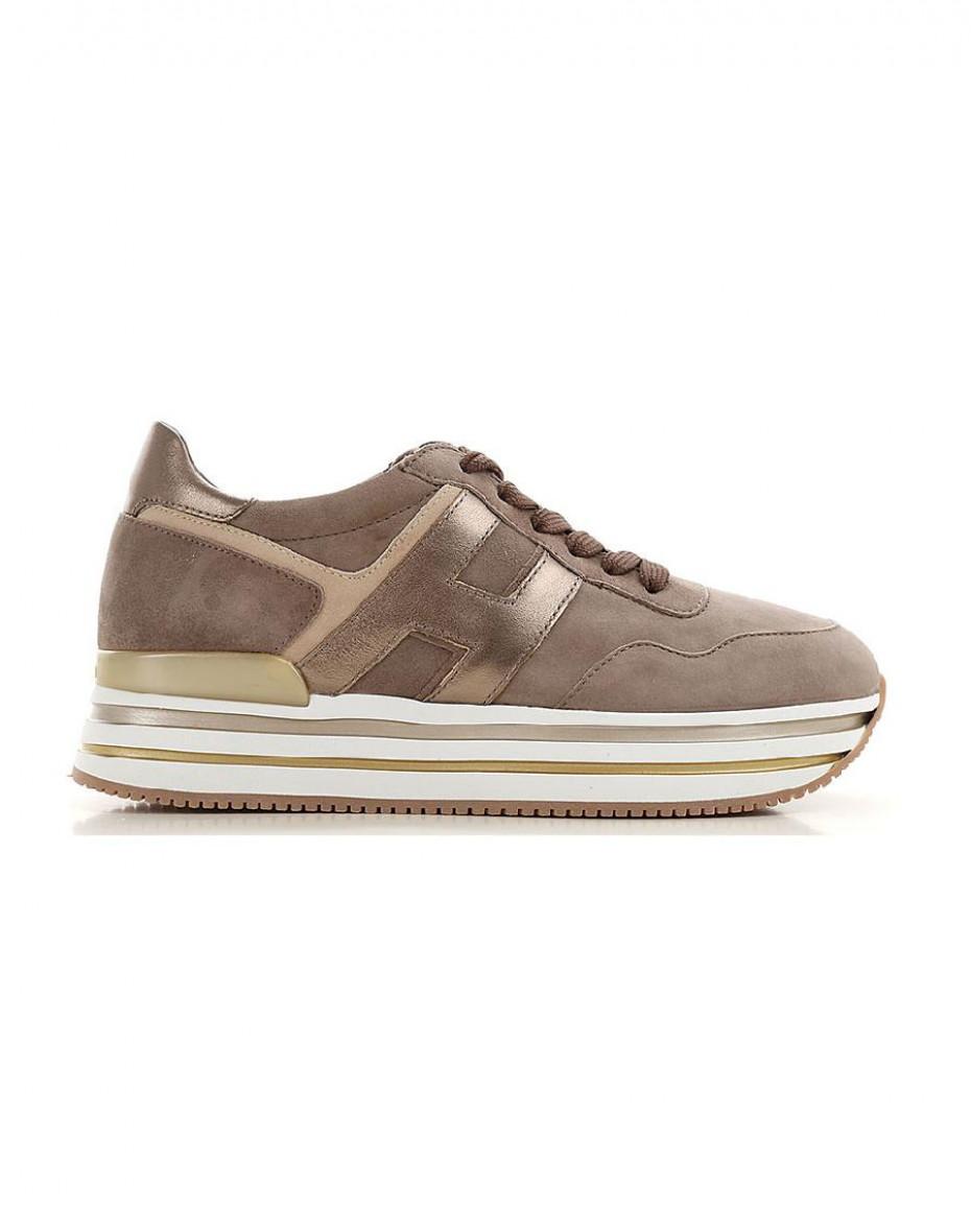 Sneakers Midi Platform Hogan - Nocciola
