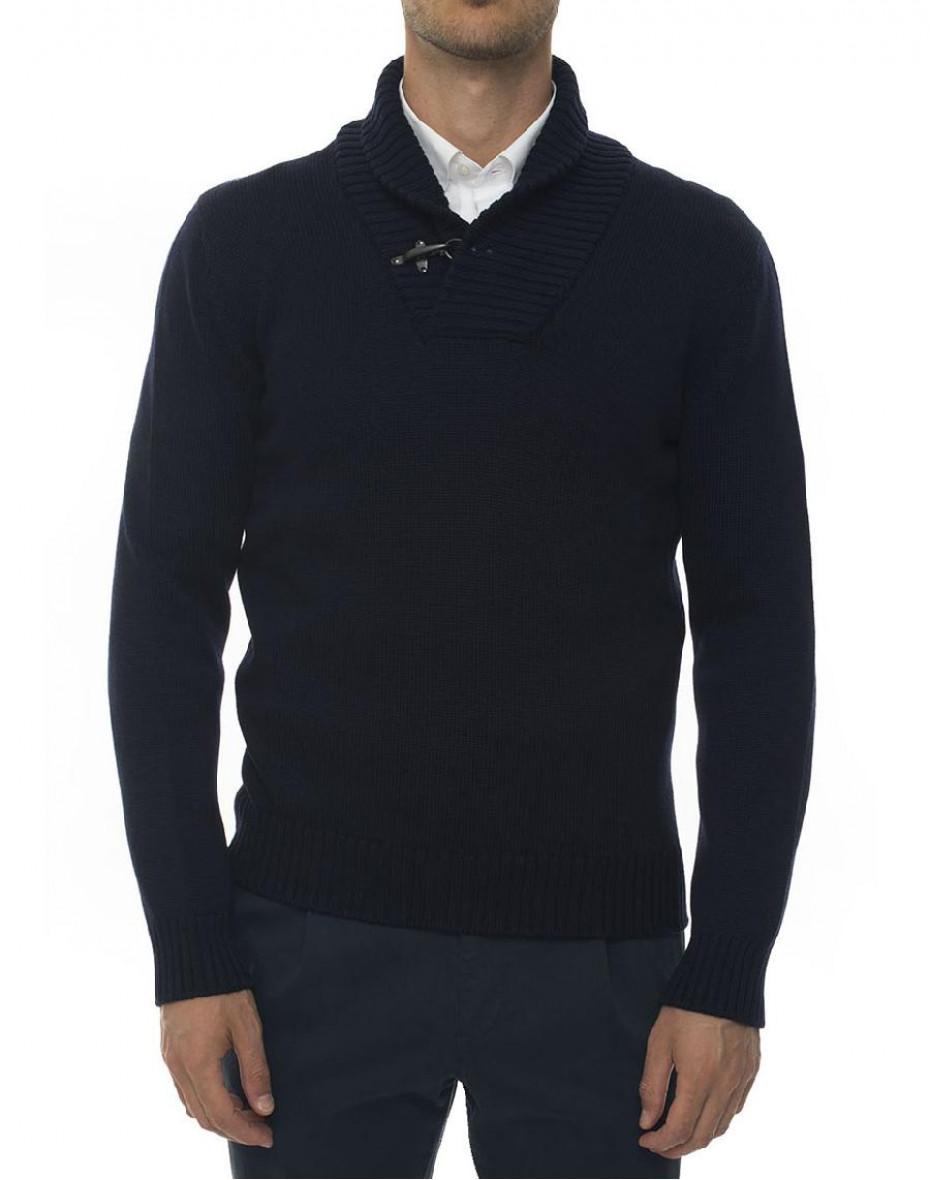 Maglione in lana - Blu