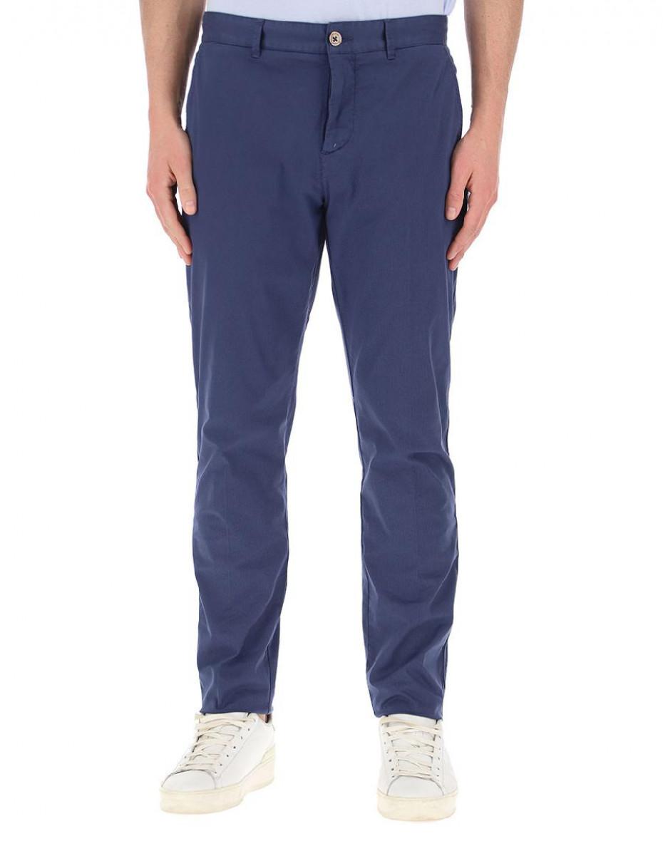 Pantaloni in cotone - Blu