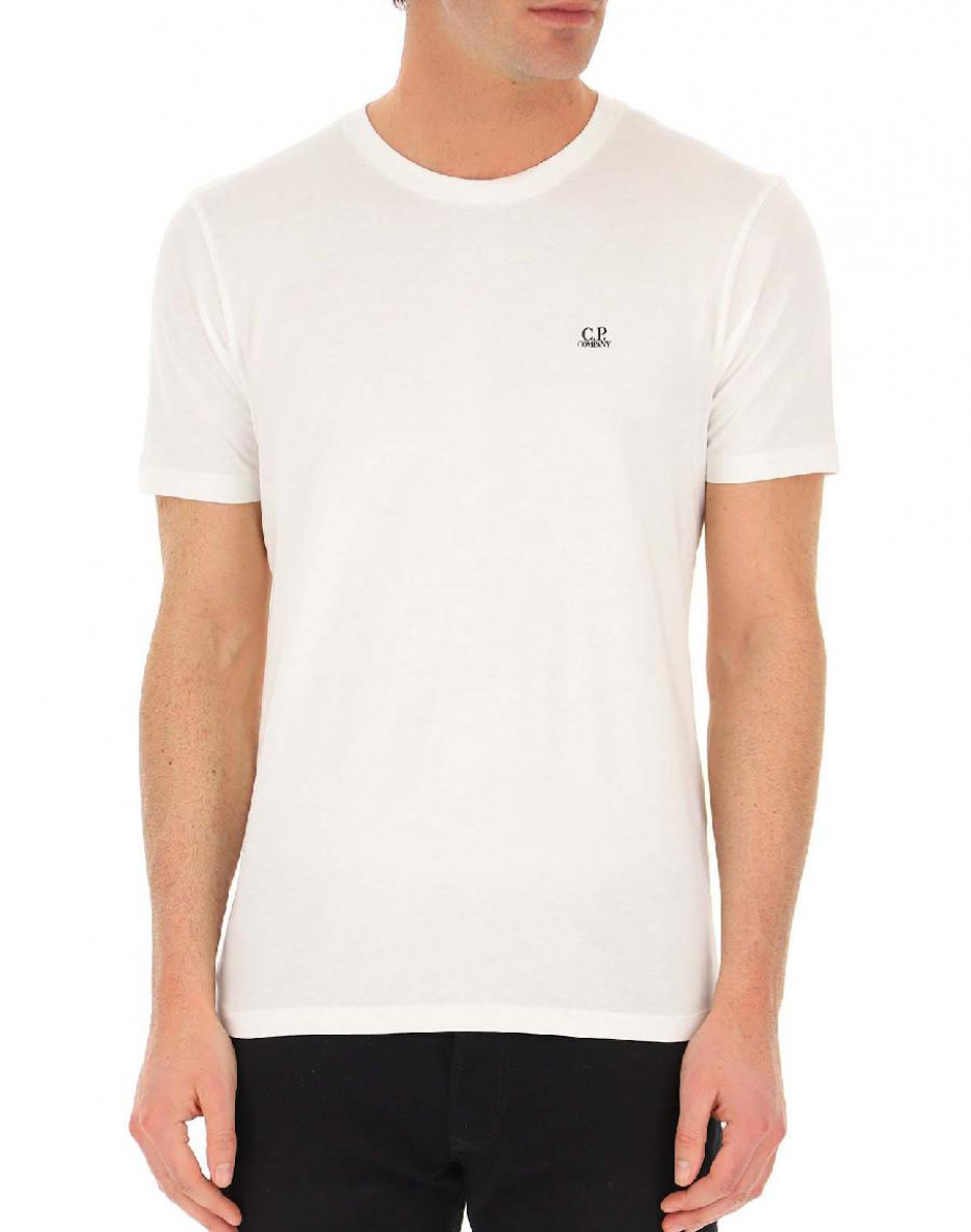 T-shirt C.P.Company in cotone - Bianca