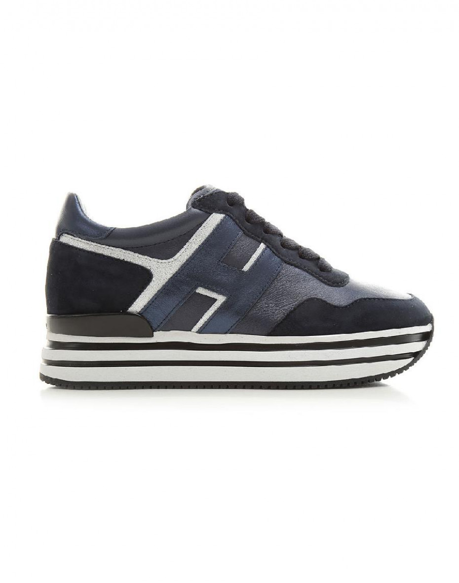 Sneakers Midi H222 - Blu