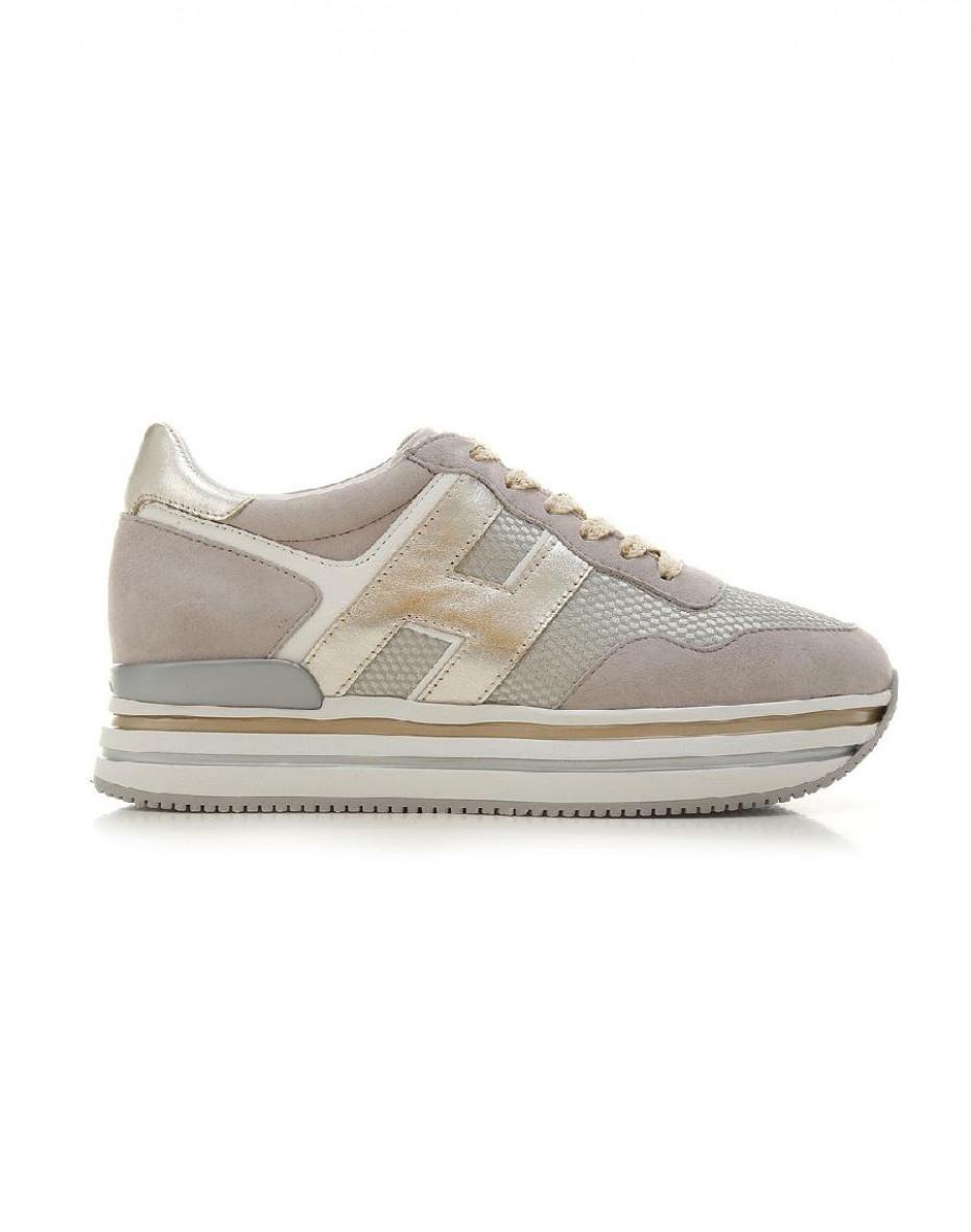 Sneakers Midi H222 - Tortora