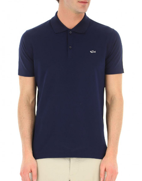 Polo Paul & Shark in cotone - Blu